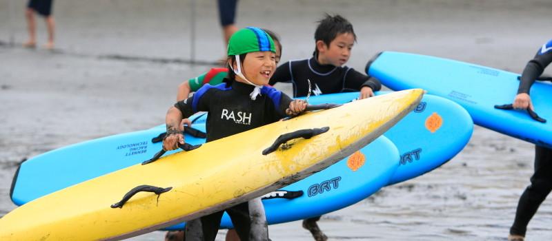 小学生:海の安全教室